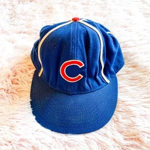 ✨ Vintage Chicago Cubs MLB Fitted Hat Cap